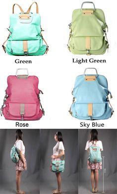 e204ebadd275 Unique Fresh Multifunction Backpack   Handbag   Shoulder Bag only  36.99  -ByGoods.com
