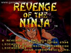 Revenge of the ninja - Sega CD / LongPlay
