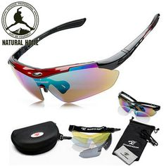 [NaturalHome] Brand Sports Bicycle Cycling Sunglasses 2016 Men Women MTB Bike Glasses Eyewear 5 Lens Oculos Ciclismo Gafas