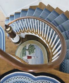 Lighthouse spiral staircase - #nautical