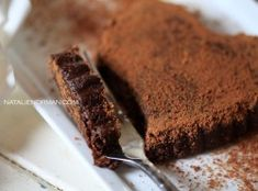 The easiest raw vegan chocolate dessert you will ever make. - Natalie Norman