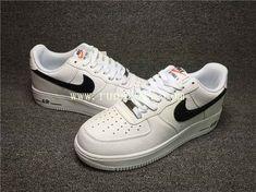 21646cb6e1a738 Nike Air Force 1 Low White Black Nike Air Force Men