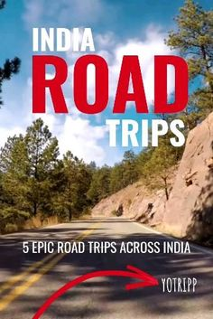 Whether you love riding out on your motorcycle, are part of a bikers group or just love family road trips, these 5 epic road trip journeys across India will take you on an adventure. Indian roadtrips like Manali to Leh road trip | Bangalore to Bandipur Road Trip | Guwahati to Tawang Road trip | Mumbai to Goa Road Trip | Chennai to Pondicherry Road trip #travel #roadtrip #incredibleIndia Indian Road, Pondicherry, Family Road Trips, Leh, Incredible India, Chennai, Bikers, Just Love, Mumbai