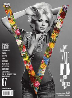 Kate Upton by Inez & Vinoodh for V Magazine, Spring 2014