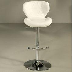 Pastel Furniture Aegean Coast Adjustable Height Bar Stool