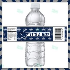 dallas-baby-shower-bottle-label-product-1