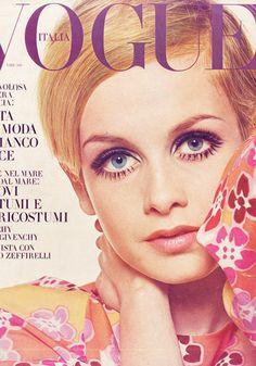 Twiggy - Vogue cover