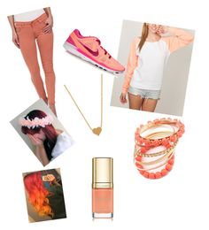 """""""❤ The Pastel Effect #5 ❤"""" by xxtheunlovedxx ❤ liked on Polyvore featuring Banana Split, AG Adriano Goldschmied, NIKE, Ruby Rocks, Minnie Grace and Dolce&Gabbana"""