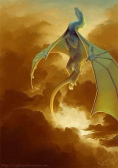 dragon ✤Look, up in the Sky! It's RUTH! (Dragonriders of Pern! Magical Creatures, Fantasy Creatures, Fantasy World, Fantasy Art, Dragon Medieval, Dragon's Lair, Dragon Rider, Dragon Pictures, Mythological Creatures
