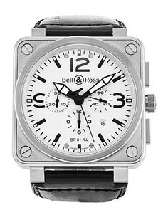 Bell and Ross BR01-94 Chronograph Steel - Product Code 4614