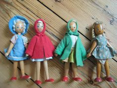 wooden polish dolls