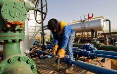 A worker is seen at the Zarzaitine #gas field in In Amenas, 1,600 km (994 miles) southeast of Algiers. #oil #gas #energy #resources #Algeria #Africa #fuel http://www.abo.net/en_IT/publications/reportage/algeria/algeria.shtml