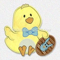 Adorable Applique-Free Again Today Saturday March 14 Embroidery Files, Embroidery Applique, Free Chickens, Free Machine Embroidery Designs, Crafty, Sewing Patterns, Projects, Illustrations, Summer