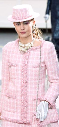Chanel, famous wool Linton tweed suit