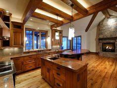 Mountain Home Kitchen Design | ... Mountain Home in Snowmass Village, Colorado | Luxury House Design