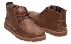 TOMS- Leather Men's Chukka Boot