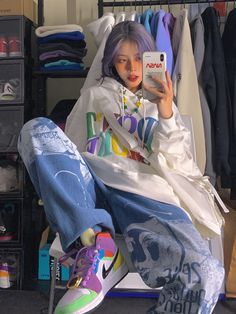 Teen Fashion Outfits, Girl Fashion, Mode Ulzzang, Mode Kpop, Korean Outfits, Looks Cool, Cute Casual Outfits, Aesthetic Clothes, Aesthetic Outfit