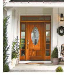 T.M. Cobb Entrance Door from their Pinnacle Collection.