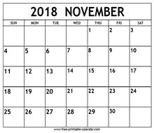free november calendar 2018 printable - This calendar ideas concepts was upload at by fre 2018 Calendar Printable Free, 2018 Calendar Template, Calendar 2018, Print Calendar, Calendar Ideas, November Calendar, March, Getting Things Done, Free Printables