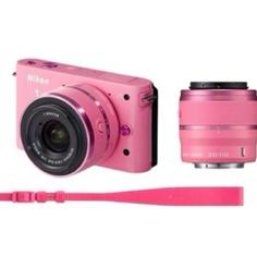 My new pink Nikon J1