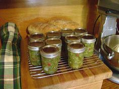 This really was not to hard to make. The time was in the chopping, but I suppose if you have one of those fancy food processors that chop, i. Canning Hot Peppers, Canning Salsa, Canning Recipes, Raw Food Recipes, Hot Pepper Relish, Co Op Food, Hot Pepper Recipes, Prepper Food, Canned Heat