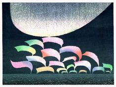 Melody by Toshi Yoshida | Hanga Gallery (reference only; not for sale)