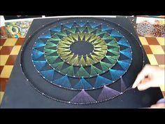 string art piramide fractus por jorge de la tierra - YouTube