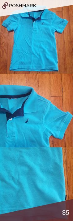 Nautica Polo Boys, size 5 light blue polo t-shirt. It's missing all tags, but is in great condition. Nautica Shirts & Tops Polos