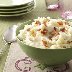 Mashed Potato Recipes from Taste of Home, including Apple Mashed Potatoes