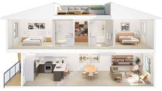 Skala Vancouver - Mount Pleasant Townhomes Inspired by Danish Design with Pricing & Floor Plans - Mike Stewart Sims House Plans, Doll House Plans, House Layout Plans, Dream House Plans, House Layouts, House Floor Plans, Home Building Design, Home Design Plans, House Construction Plan