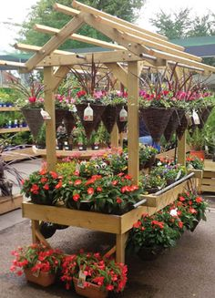 Product Range — Timber Displays Garden Stand, Garden Shop, Garden Nursery, Plant Nursery, Suculentas Diy, Flower Shop Interiors, Garden Center Displays, Hydrangea Landscaping, Garden Shelves