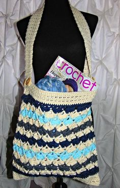 Arianna Project Or Tote Bag By Sheri Weber/The Country Willow - Free Crochet Pattern - (thecountrywillows)
