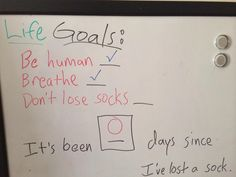 Goals seem to be set pretty low...