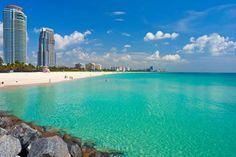 Em agosto, ainda é possível curtir as belíssimas praias de Miami.