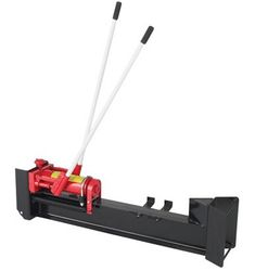 This Wel-Bilt Horizontal Manual Hydraulic Log Splitter features a pump that quickly builds up to 10 tons of log-splitting pressure. Pump operates using 2 steel handles to split logs up to long. Includes 2 wheels for easy maneuverability.