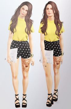 """thatsfetchsims: """"♪ Willow ♪ Hair 