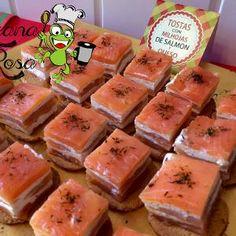 1000 images about tapas y picoteo on pinterest recetas for Canape de salmon ahumado