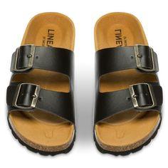 Linear Sandal - Sort 304057 feetfirst.no