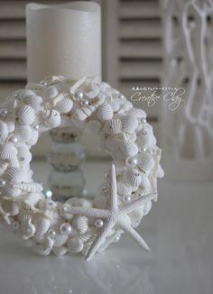 Shell Wreath クレイで作るシェルリース
