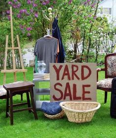 Throwing a garage sale? Use these pointers to ensure your clutter turns into cash.