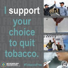 Make today the first day of your #TobaccoFree life! It's the Great American Smokeout and we want you to trash the pack!