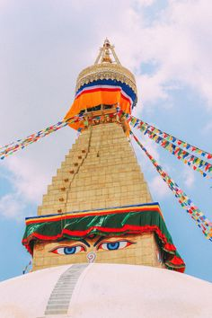 The unesco world heritage site of boudhanath stupa in kathmandu, nepal Tibet, Nepal Kathmandu, Bhutan, Ancient Greek Architecture, Gothic Architecture, Asia, The Beautiful Country, Mayan Ruins, Vietnam Travel