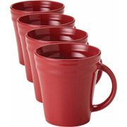 Rachael Ray Double Ridge Mugs, Set of 4 - $9.00! - http://www.pinchingyourpennies.com/rachael-ray-double-ridge-mugs-set-4-9-00/ #Mugs, #Rachaelray, #Setof4