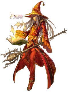 wizard by *Cushart on deviantART http://cushart.deviantart.com/