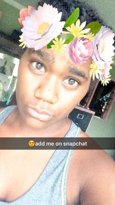 Snapchat homies😂😘