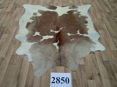 Kuhfell Tapis en Peau de Vache de fourrure koeienhuid pelle di mucca pelle 2850