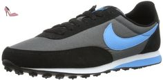 Nike Elite, Baskets mode garçon - Multicolore (Black/Grey/Blue 032), 38 EU - Chaussures nike (*Partner-Link)