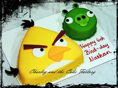 angry bird cakes - Google Search