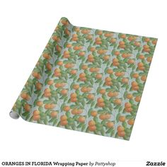 ORANGES IN FLORIDA Wrapping Paper