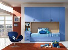 grey Wardrobe Model Design For Bedroom